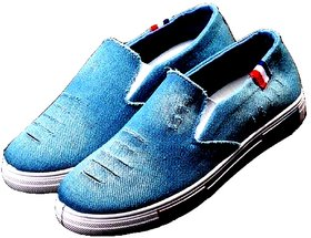 Adybird Men's Blue Lace-Up Casual Shoes