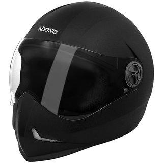 Steelbird Adonis Classic Full Face Helmet (Black  L)