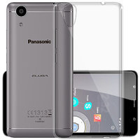 Panasonic Eluga Ray Transparent Soft Back Cover