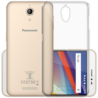 Panasonic P85 Transparent Soft Back Cover