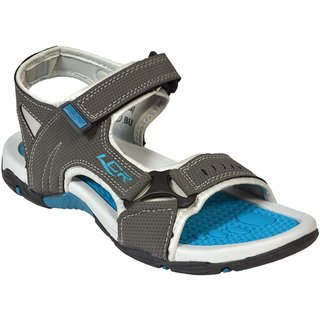 LANCER MEN COMFORTABLE DARK GREY   COLOR FLOATERS/ SANDALS ( EARTH -25)