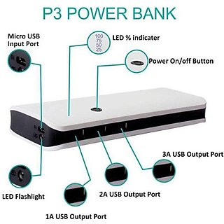 Lionix P-3 Fast Charging 10000 Mah Power Bank Black (With 6 Months Manufacturing Warranty)