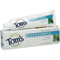 Tom's Of Maine - Peppermint Sls-Free Anticavity & Whitening Paste, 4.7 Oz