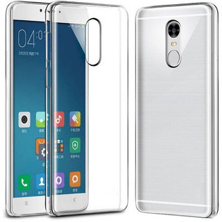 Redmi Note 4 High Quality Ultra-Thin Transparent Back Cover.