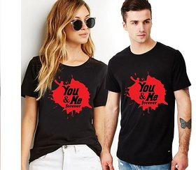 You and Me Forever Couple Combo T-shirts
