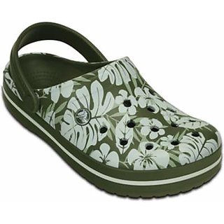 Crocs Crocband Tropical Print Clog