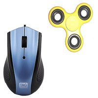 Combo Offer! TAG Mouse  Stress Relief Fidget Spinner Fo