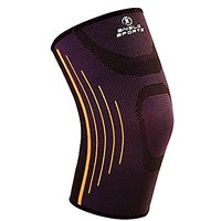 Knee Sleeves  Unisex - Support & Compression for Jogging, Running & Sports - Best Knee Brace  Helps you get Quick Recovery from Most Known Pains (Black, Large)