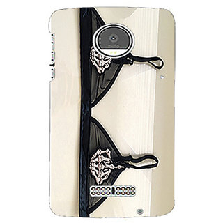 Printgasm Moto Z Play printed back hard cover/case,  Matte finsh, premiun 3D printed, designer case