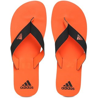 204c5481e Buy Adidas Eezay Max Out Black Orange Flip-Flops Online   ₹799 from  ShopClues