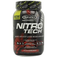 MuscleTech NitroTech Whey Protein Powder, Whey Isolate