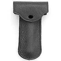 Genuine Leather Double Edge Safety Razor Protective/Travel Case With Felt