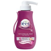 Veet Gel Hair Remover Cream With Essential Oils, 13.50 Ounce