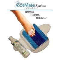The Footmate System Foot Massager & Scrubber W/ Rejuven
