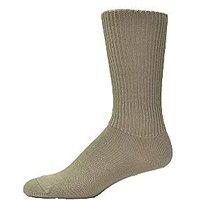 Simcan Cotton Mid Calf Comfort Diabetic Sock (SAND L)