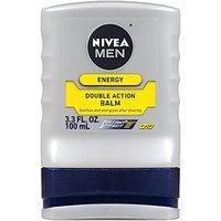 Nivea For Men Q10 Energy Double Action Balm, 3.3 Fl. Oz. Bottles (Pack Of 3)
