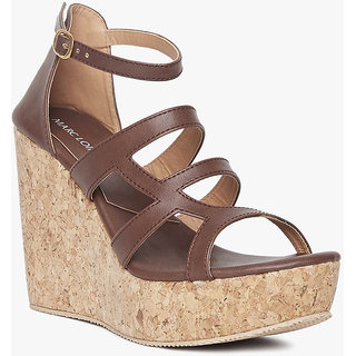 Marc Loire Women's Brown Wedges