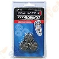 Remington Sp-19 Microflex Shaver Replacement Head Set