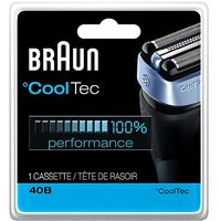 Braun 40B Foil And Cutter Replacement Cartridge For Cooltec Shavers Series