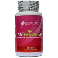 AfriGrowth60 Black Hair Growth Vitamins For African Ame