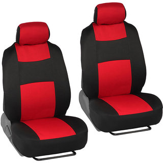 Autodecor Chevrolet Enjoy Black  Leatherite Car Seat Cover with Neck Rest  Free