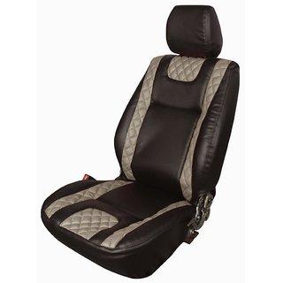 Autodecor Hyundai Santro Black Leatherite Car Seat Cover with Neck Rest  Free