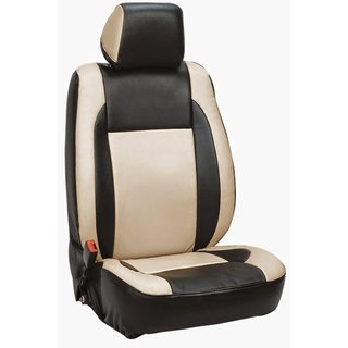 Autodecor Tata Zest Black Leatherite Car Seat Cover with Neck Rest  Free