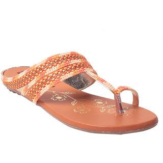 MSC Women's Orange Flats