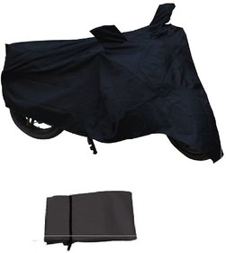 Premium Quality Bike Body cover Waterproof for TVS Apache RTR 160 - Black Colour