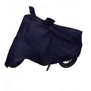 Relisales Bike body cover with mirror pocket Dustproof for Mahindra Kine - Blue Colour