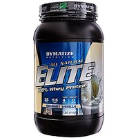 Dymatize All Natural Elite 100% Whey Protein, Gourmet V