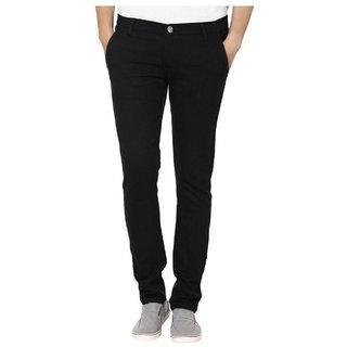 Urbano Fashion Black Slim Fit Stretch Jeans