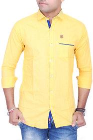 La Milano Plain Cotton Linen Shirt
