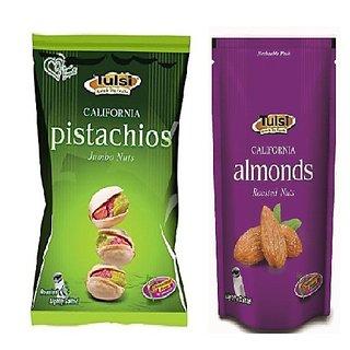 Tulsi Pista Jumbo and Roasted Almond Combo