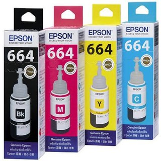 75ml INK Bottles for EPSON L100 L110 L200 L210 Printer Ink with Reset Codes