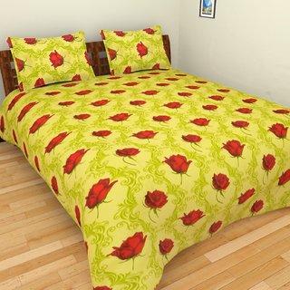 Designer Printed Cotton Bed Sheet