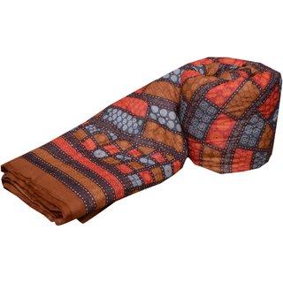 Spangle  Traditional Jaipuri Reversable Both Side DABU Print Razai - Double Bed