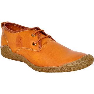 15542677b5651 Buy Lee Grain Pure Leather Tan Casual Shoe Online - Get 50% Off