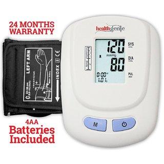 Healthgenie BP Monitor digital Upper arm BPM 01W Automatic