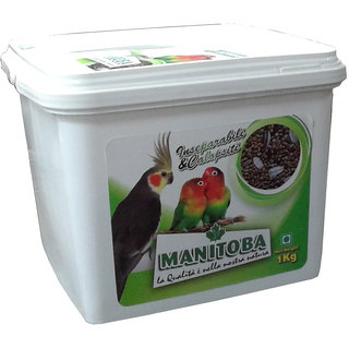 Mixture of Parakeet 1kg (In Plastic Container)