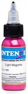 Intenze Tattoo Ink, Light Magenta, 1 oz Bottle. Made In USA