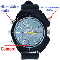 M MHB SPY Full HD Wrist 1920*1080 Wrist Watch Plus Nigh