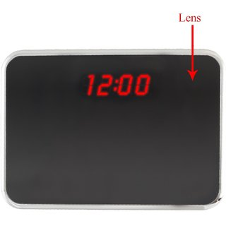 M MHB FULL HD Quality Table Clock Hidden Audio/ video Recording While recording no light Flashes. table clock camera with remote operating.32 GB Memory Supportable.