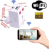 M MHB WiFi Mobile Charger Hidden Spy Camera FULL HD 1080 Quality directly seen on your mobile with recording in Mobile phone and microSD card Anytime Anywhere.