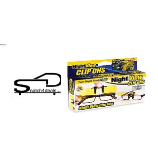s4d Night Vision Clip On Glasses - Yellow