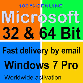 Microsoft Windows 7 Professional 64 Bit/32..