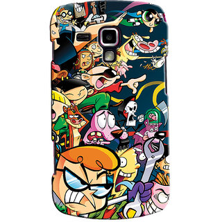 Snooky Digital Print Hard Back Cover For Samsung Galaxy S Duos S7562 Td12663