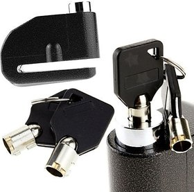 Disk Brake Lock With Alarm For Motorcycle/Bike/Bicycle ANTI THEFT (Universal)