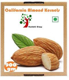 Rockishii California Almond Kernels Premium Grade 900 Grams
