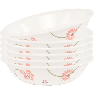 Corelle Asia Pretty Pink 6 Pcs Veg Dessert Bowl